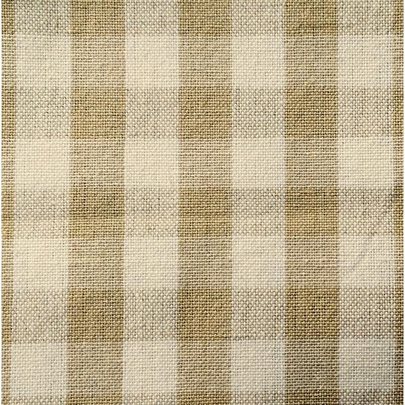 100% Cotton Kitchen Towel 600 Ecru & White Check