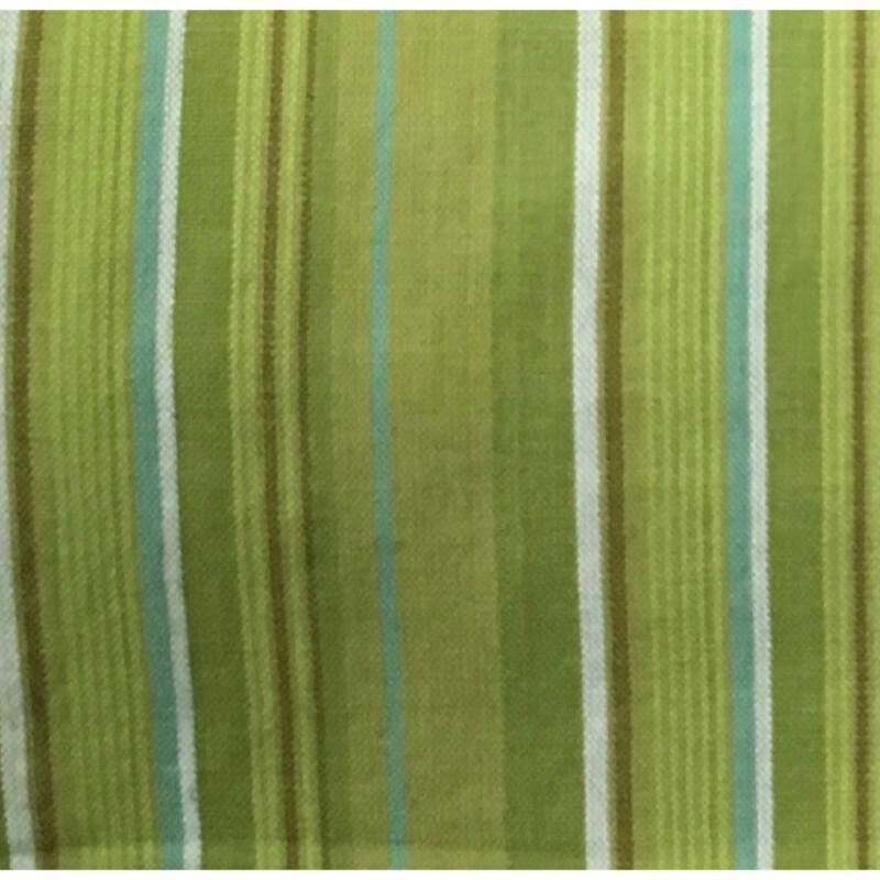 100% Cotton Kitchen Towel AH041 Lime Green Stripe