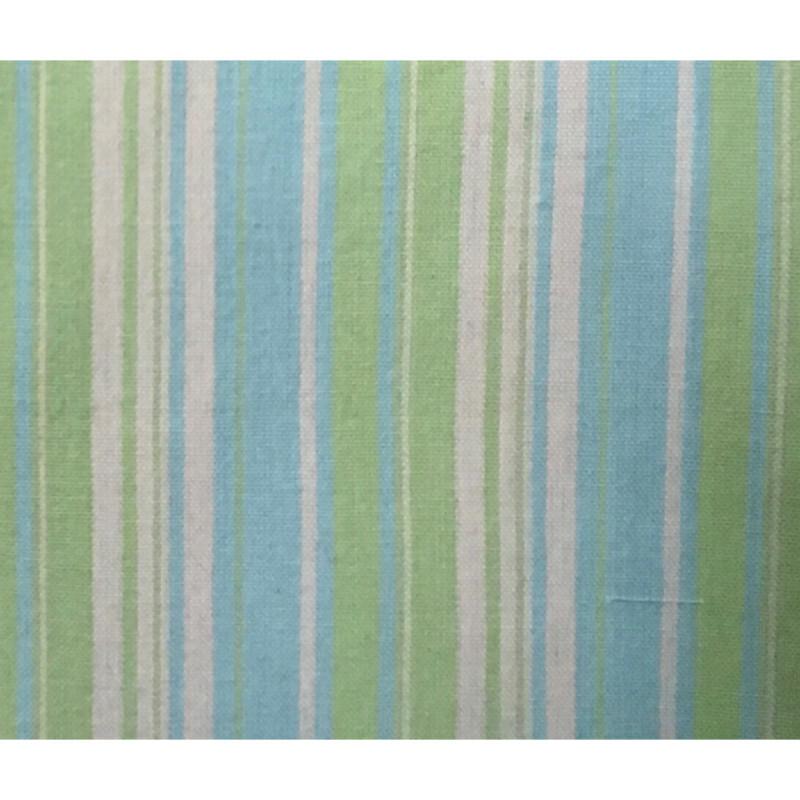 100% Cotton Kitchen Towel AH052 Lime & Aqua Stripe