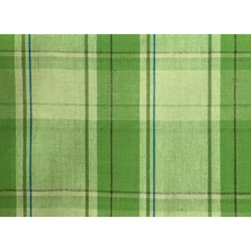 100% Cotton Kitchen Towel AH059 Bright Lime Plaid